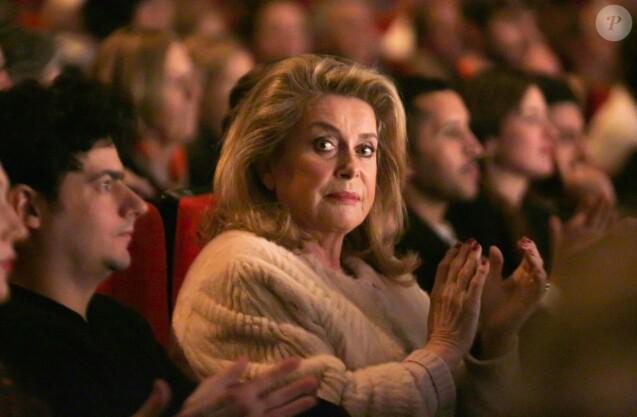Catherine Deneuve (présidente du jury longs-métrages) lors de la 30ème édition du Festival Premiers Plans d'Angers, France, le 15 janvier 2018. © Latitia Notarianni/Bestimage
