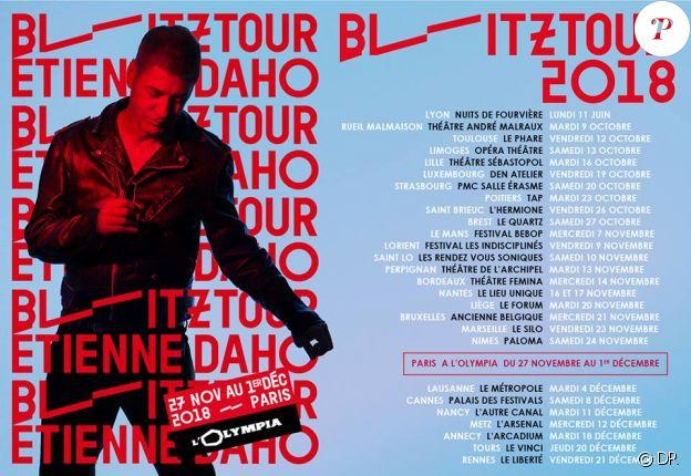 Etienne Daho - Blitz Tour 2018.