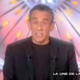 """Thierry Ardisson dans """"Les Terriens du dimanche"""", le 24 septembre 2017 sur C8."""