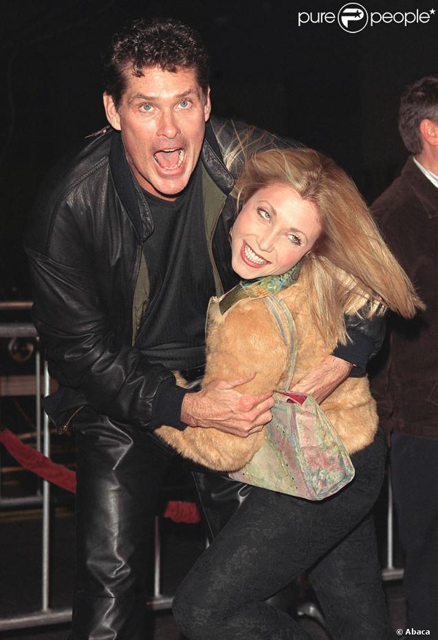 David Hasselhoff et son ex-femme Pamela Bach