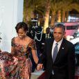 Barack Obama et Michelle Obama en visite officielle en Afrique. Dakar, le 27 juin 2013.