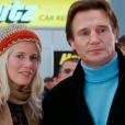 Liam Neeson, invité de C à vous le 17 janvier 2018 sur France 5, parle de sa collaboration avec Claudia Schiffer