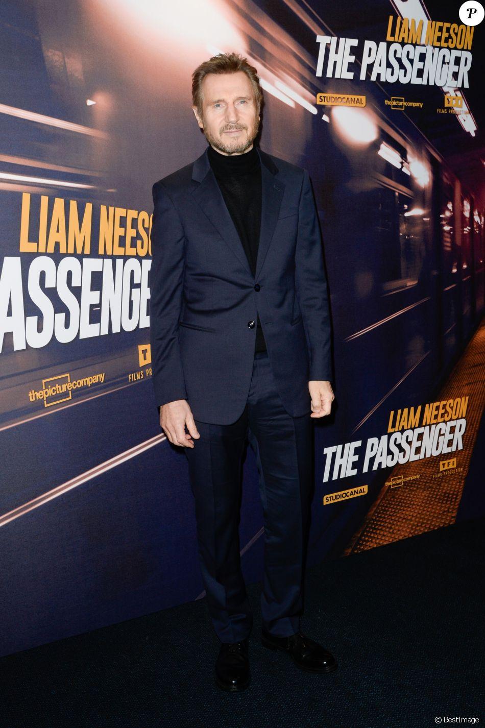 Liam Neeson - Avant-première du film The Passenger au ...