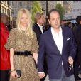Claudia Schiffer et Matthew Vaughn à Londres en 2008