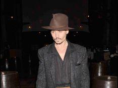 Johnny Depp à la première de Sweeney Todd à Londres