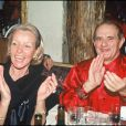 Paul Bocuse et sa femme Raymonde, photo d'archives.