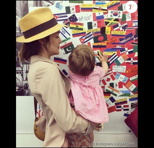 "Caroline, la fille de Megan Boone (""The Blacklist""), Instagram, 4 juin 2017"