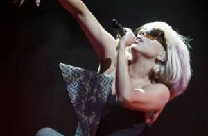 En pleine tournée, Lady Gaga est toujours aussi sexy... et créative !