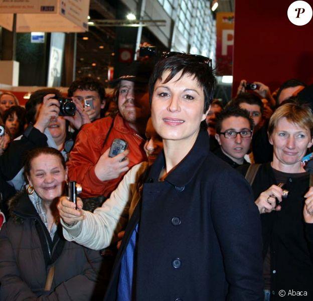 Hélène Médigue au Salon du Livre le 14 mars 2009