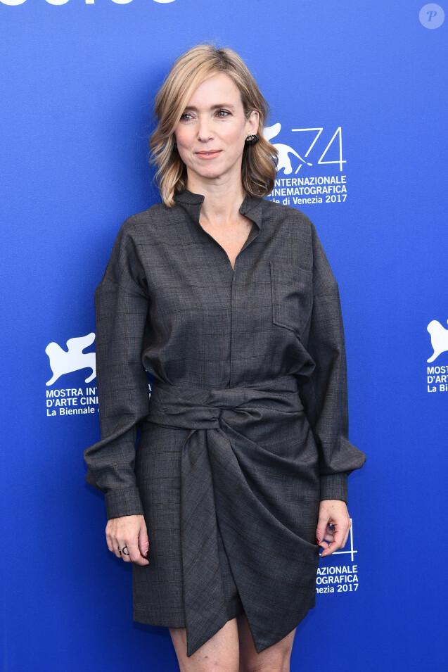 """Léa Drucker - Photocall du film """"Jusqu'à la garde"""" lors du 74e Festival International du Film de Venise, la Mostra. Le 8 septembre 2017"""