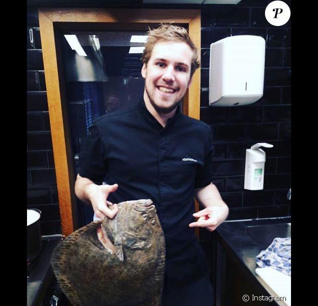 """Jérémy, candidat de """"Top Chef 2018""""."""