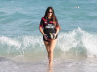 Claudia Romani (Secret Story 9) : Canon à la plage avant un match capital