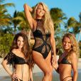 Christie Brinkley et ses filles Alexa Ray Joel et Sailor Brinkley Cook pour Sports Illustrated Swimsuit 2017.