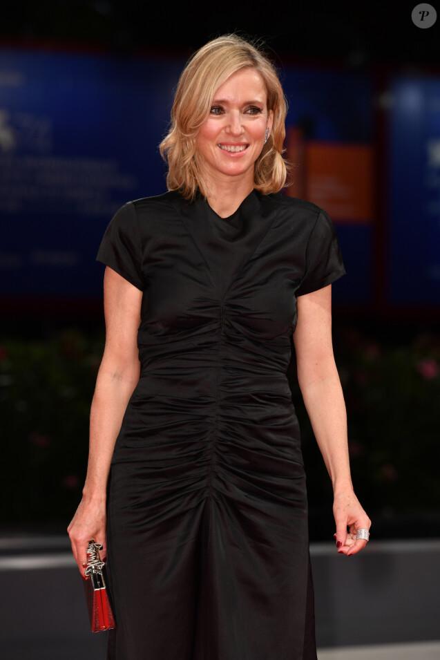 """Léa Drucker à la première de """"Jusqu'à la Garde"""" au 74ème Festival International du Film de Venise (Mostra), le 9 septembre 2017."""