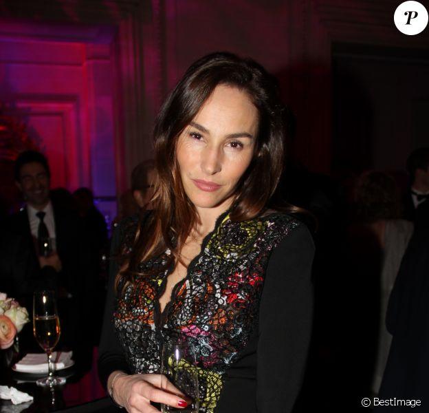 Vanessa Demouy - Dîner de la 41ème édition du Prix The Best à l'hôtel George V à Paris le 25 janvier 2018. © Philippe Baldini/Bestimage25/01/2018 - Paris