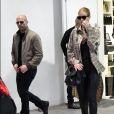 Exclusif - Rosie Huntington-Whiteley et son mari Jason Statham à Beverly Hills le 23 décembre 2017.