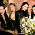 Nabilla fête son 26e anniversaire avec ses proches à Londres, dans la nuit du 4 au 5 février 2018.