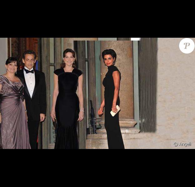 Carla Bruni et Rachida Dati, deux robes sublimes pour deux étoiles...