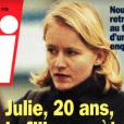 """Couverture du magazine """"Voici"""" daté du 19 au 25 janvier 1998. L'existence de la fille cachée de Claude François y était dévoilée pour la première fois."""