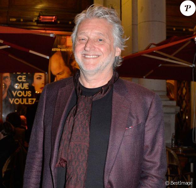 """Gilbert Rozon - Générale de la pièce de théâtre """"Tout ce que vous voulez"""" au Théâtre Edouard VII à Paris le 19 septembre 2016. © Coadic Guirec/Bestimage"""