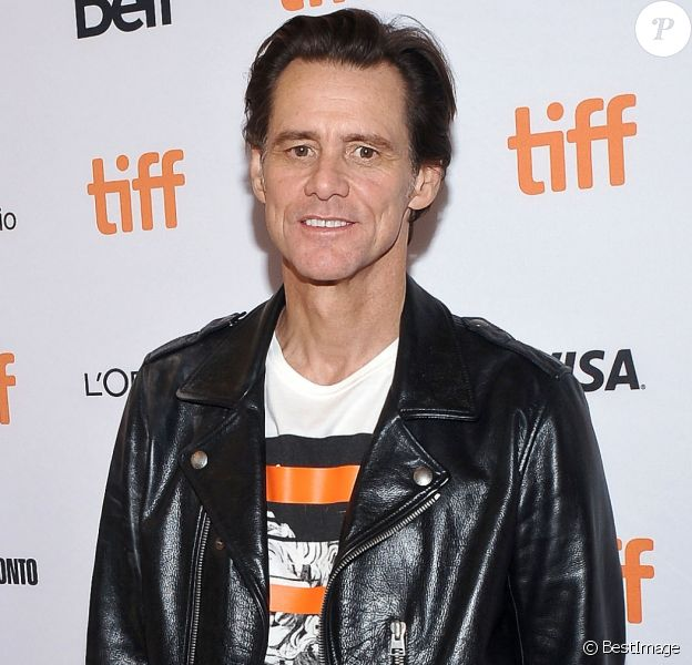 Jim Carrey lors de la Première de ''Jim & Andy: The Great Beyond'' au festival international du film de Toronto (TIFF) le 11 septembre 2017.