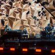 Philippe Almosnino et Yarol Poupaud - 33ème Cérémonie des Victoires de la Musique à la Seine musicale de Boulogne-Billancourt, France, le 9 février 2018. © Coadic Guirec/Bestimage