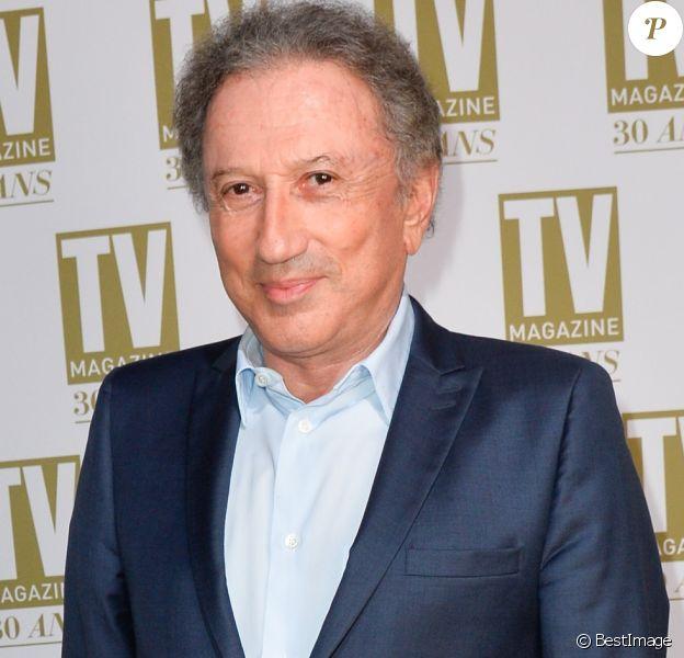 Exclusif - Michel Drucker - Soirée d'anniversaire des 30 ans de TV Magazine au Pavillon des Champs-Elysées à Paris le 17 octobre 2017. © Coadic Guirec/Bestimage
