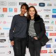 Sonia Rolland et Mélissa Theuriau - 20ème anniversaire du Festival des Créations Télévisuelles de Luchon, France, le 10 février 2018. © Patrick Bernard/Bestimage