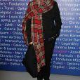 """Dominique Issermann- Le professeur S. Lyonnet, président de l'Institut des maladies génétiques, et le galériste K. Mennour ont organisé la soirée """"Heroes for Imagine"""", une grande vente aux enchères d'oeuvres d'art animée par G. Elmaleh et dirigée par le président de Christie's F. de Ricqlès à l'institut Imagine, à Paris le 12 février 2018. © Dominique Jacovides/Bestimage"""