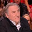 Gérard Depardieu dans Quotidien le 13 février 2018.