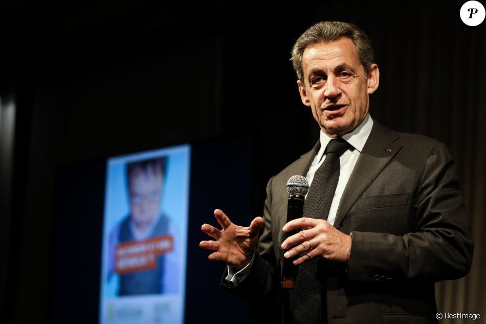 Nicolas Sarkozy s'engage contre le cancer de l'enfant