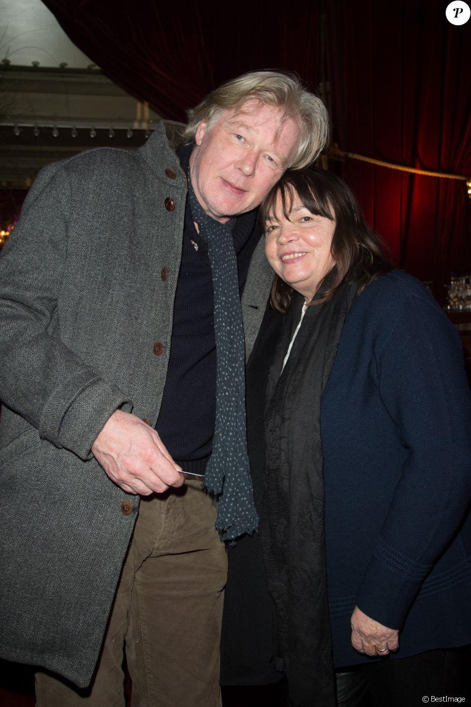 Exclusif - Myriam Boyer et son mari Philippe Vincent lors de la  représentation exceptionnelle du spectacle