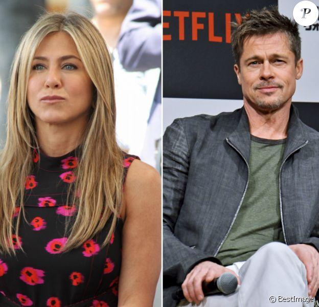 Jennifer Aniston et Brad Pitt.