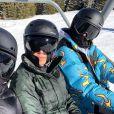 Kim, Kourtney Kardashian et Kendall Jenner à Park City. Février 2018.
