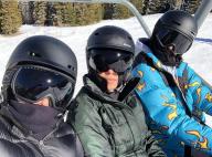 Kendall Jenner : Absente de la Fashion Week, elle préfère skier en famille