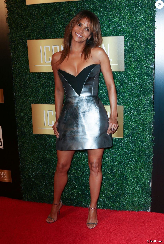 """Halle Berry au 6ème """"ICON MANN Pre-Oscar Dinner"""" à Beverly Hills. Le 27 février 2018"""