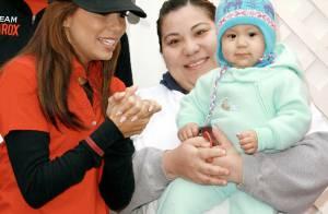 Eva Longoria sort sa nouvelle coupe et... son amour pour les enfants !