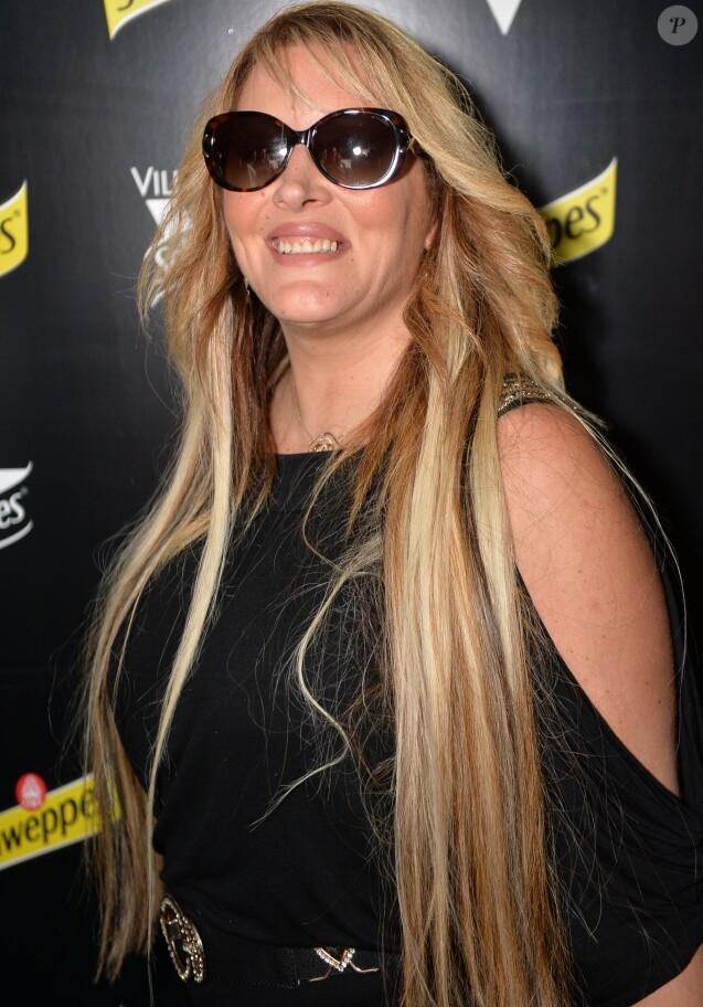 Exclusif - Loana Petrucciani - Soirée des invités Unexpected à la Villa Schweppes lors du 70ème festival de Cannes le 20 mai 2017.