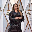Taura Stinsonsur le tapis rouge des Oscars au Dolby Theatre, Los Angeles, le 4 mars 2018.