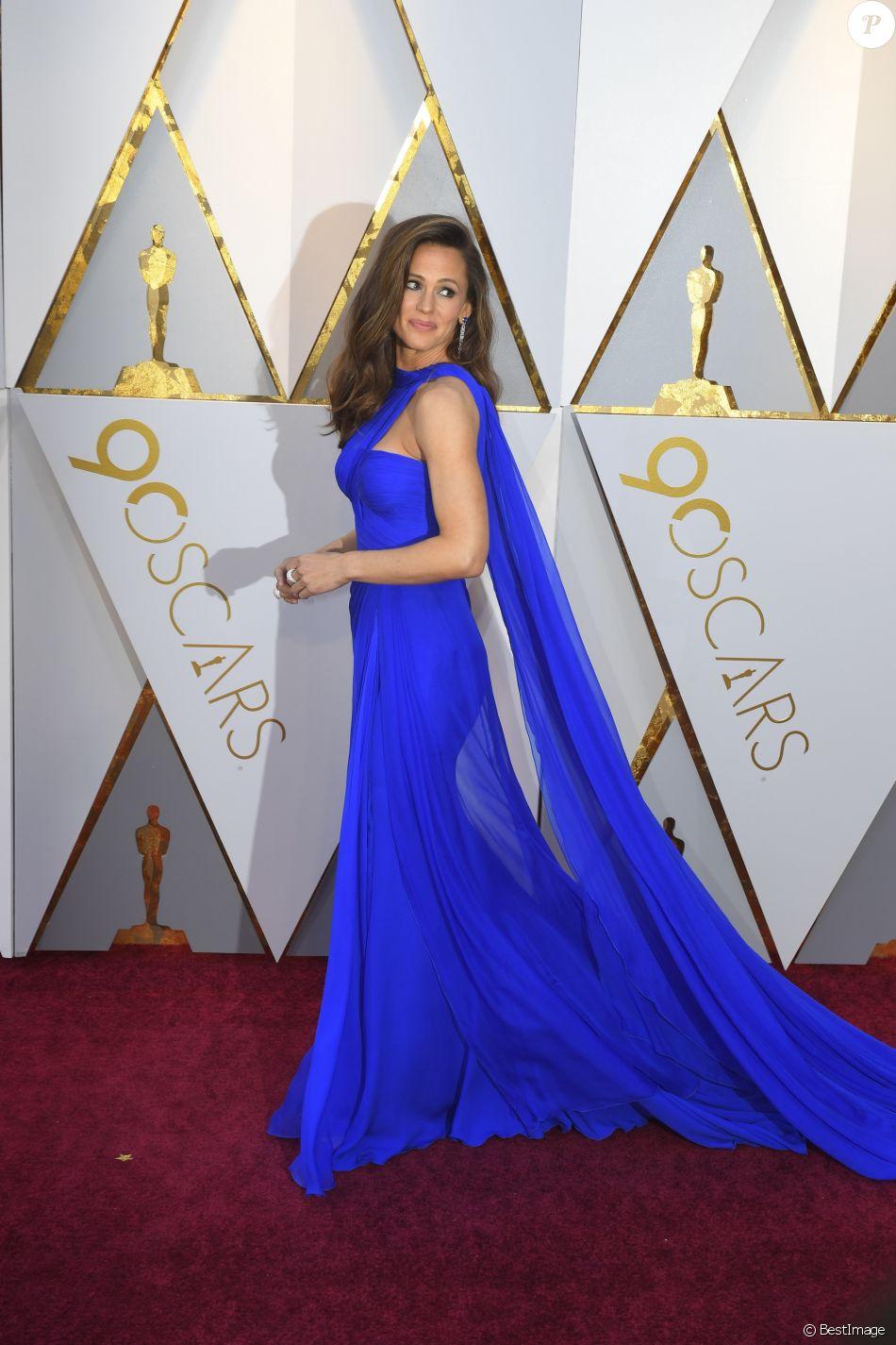 Jennifer Garner, dans une robe Atelier Versace - 90ème cérémonie des Oscars 2018 au théâtre Dolby à Los Angeles, le 4 mars 2018. © Kevin Sullivan via ZUMA Press/Bestimage