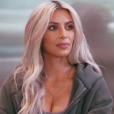 """Kim Kardashian présente La'Reina (mère porteuse de sa fille Chicago) à sa famille dans l'épisode final de la saison 14 de """"L'incroyable famille Kardashian"""" diffusé le 4 mars 2018"""