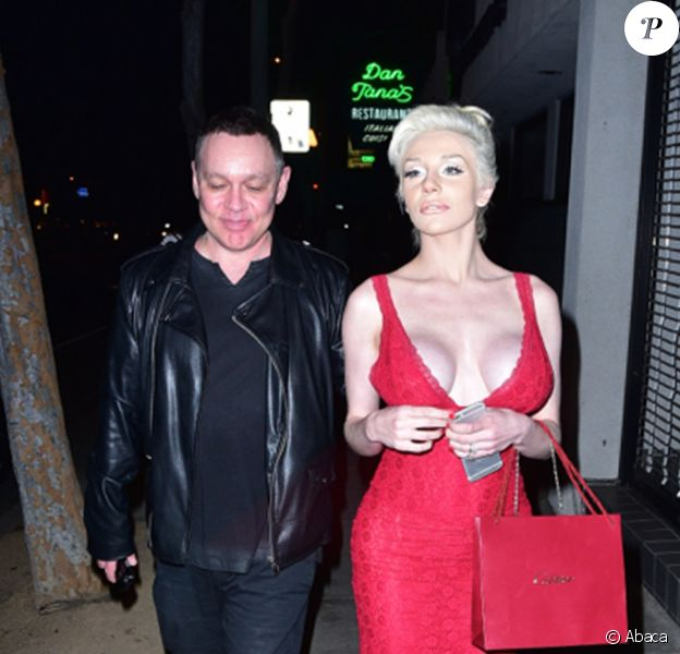 Doug Hutchison et Courtney Stodden à West Hollywood. Février 2016.