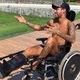 Neymar créée le malaise en rendant hommage à Stephen Hawking sur Instagram le 14 mars 2018.