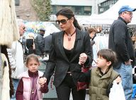 La splendide Catherine Zeta-Jones... shopping élégant avec ses adorables enfants !