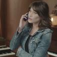"""Carla Bruni dans le clip """"Sa raison d'être 2018"""" pour Sidaction."""