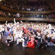 """Semi-Exclusif - Les membres des Airnadette - Le nouveau spectacle des Airnadette """"Le pire contre attaque"""" au Trianon, Paris le 17 Mars 2018 © Marc Ausset-Lacroix/Bestimage"""