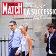 """Couverture du magazine """"Paris Match"""" en kiosques le 22 mars 2018"""