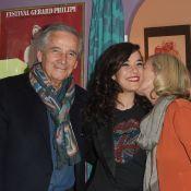 Mélanie Doutey câlinée par ses parents, applaudie par Nagui et son épouse