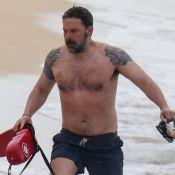 Ben Affleck : Son énorme tatouage dévoilé à la plage
