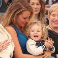 Blake Lively avec sa fille James et sa belle-mère Tammy - Ryan Reynolds reçoit son étoile sur le Walk of Fame à Hollywood, le 15 décembre 2016